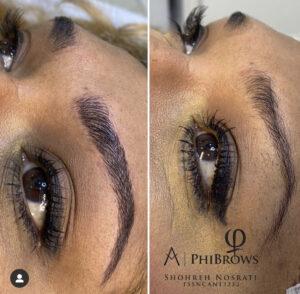 Eyebrow Microblading with Phi Method