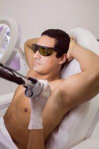 Underarm Men Laser Hair Removal In Golden Pulse Laser Clinic Richmond Hill