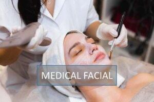 Medical facial in Golden Pulse Laser Clinic Richmond Hill